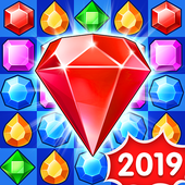 [IOS GAME] Jewels Legend – Match 3 Puzzle  v2.19.4 MOD IPA | MOD FOR IOS