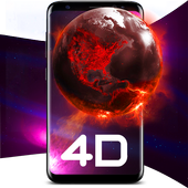 Live Wallpapers 3D--Animated AMOLED 4D Backgrounds icon
