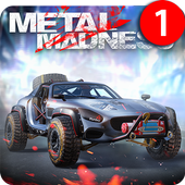 METAL MADNESS PvP: War Apex of Online Car Shooter icon