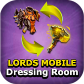 [IOS GAME] Dressing room – Lords mobile  v228 MOD IPA | MOD FOR IOS